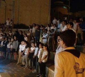 טקס יום הזיכרון לרצח יצחק רבין תשעט