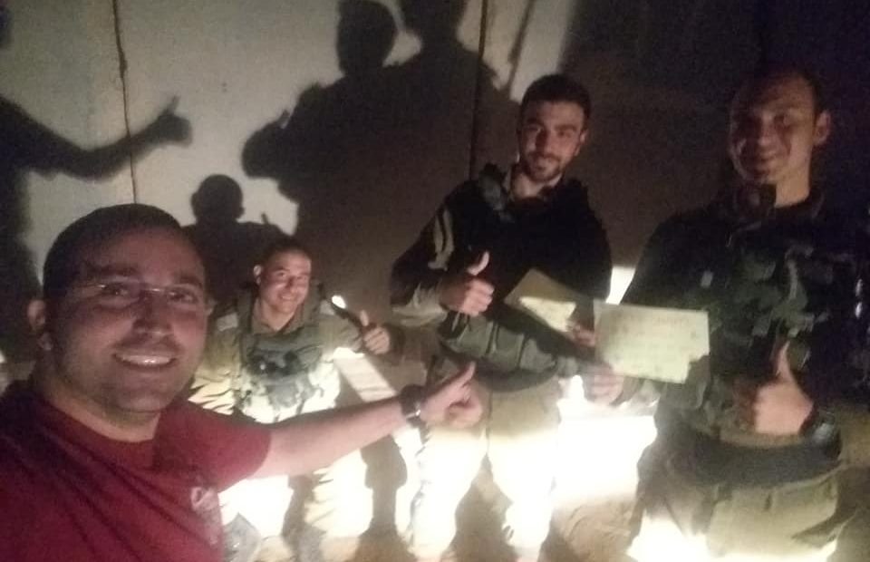 הנוער מפנק את חיילי עוטף עזה