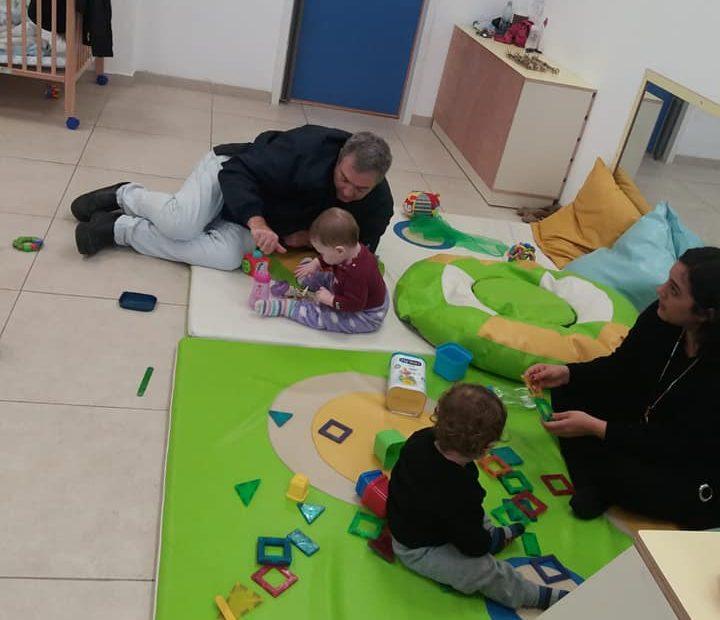 בוקר הורים וילדים במעון