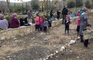 חניכת הגינה הקהילתית