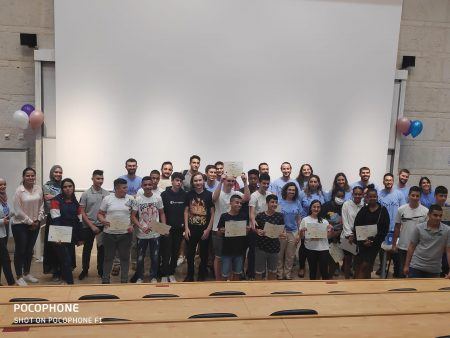טקס סיום שנה קבוצת יזמות ותכנות