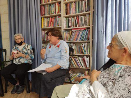 שיחה עם הרבנית שטרן במועדון