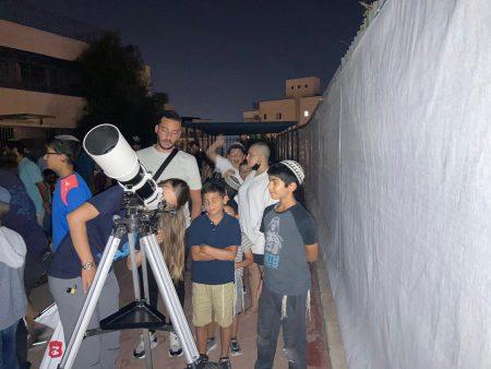 פעילות אסטרונומיה וכוכבים